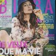 Lucie Lucas en couverture du magazine Biba paru le 5 mai 2021