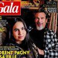 """Laeticia Hallyday et Jalil Lespert dans le magazine """"Gala"""" du 6 mai 2021."""