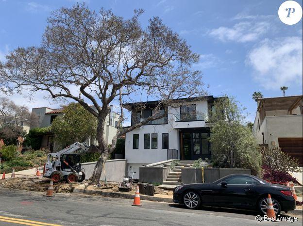 La nouvelle villa de Laeticia Hallyday à Pacific Palisades, près de Los Angeles. Avril 2021