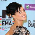 Katy Perry sur le tapis rouge des MTV EMA 2009 à Berlin, le 4 novembre 2009