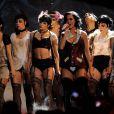 Katy Perry sur la scène des MTV EMA 2009 à Berlin, le 4 novembre 2009