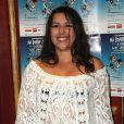 """Nathalie Cardone - Paris le 01.10.2012 - Representation exceptionelle de """"Ma bonne étoile a perdu le Nord"""" de Patrick Hernandez au theatre du gymnase à Paris"""