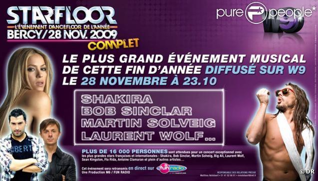 Starfloor, le 28 novembre 2009 à Paris-Bercy