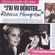 Rebecca Hampton, dans Closer