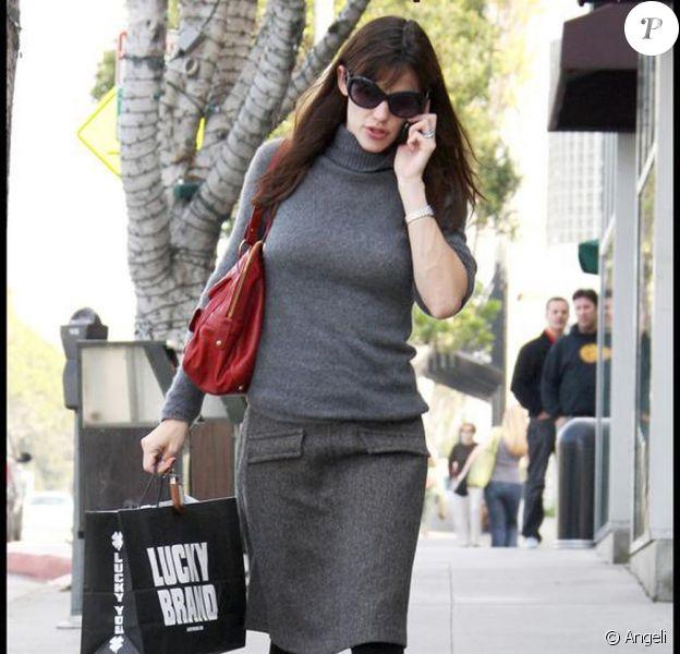 Jennifer Garner (Brentwood, 9 novembre 2009)