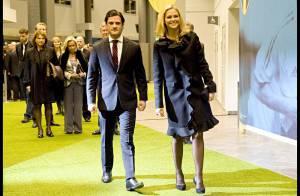 La princesse Madeleine de Suède, ultra glamour pour... le sacre d'une immense star nationale !