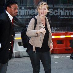 Kate Winslet va participer à l'émission ''Good Morning America'' à New York, el 26 septembre 2017.
