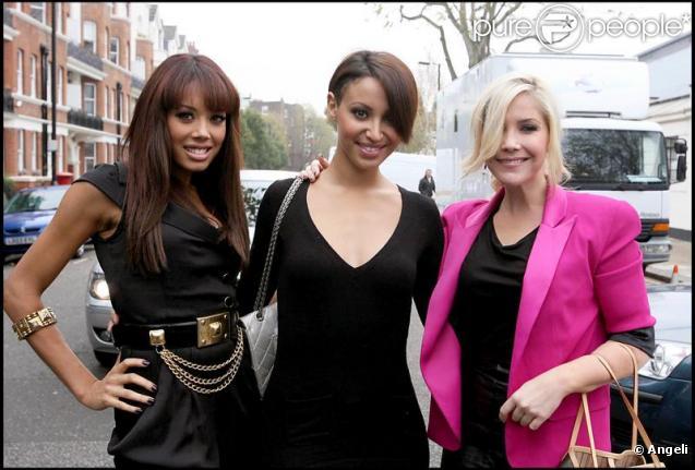 Les Sugababes à Londres, le 9 novembre 2009