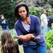 Regardez Michelle Obama offrir des légumes... pour l'anniversaire de ses étranges mais sympathiques amis !