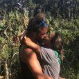 Joakim Noah et sa fiancée Lais Ribeiro au Brésil. Février 2021.