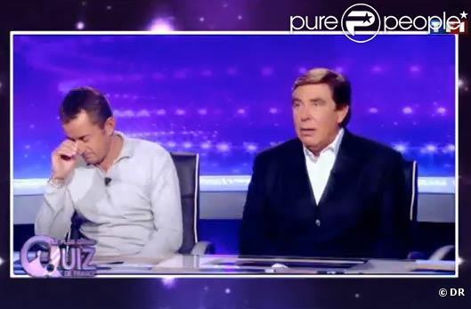 Christophe Dechavanne et Jean-Pierre Foucault, parfois consternés par les candidats !