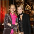 Madame Igor Bogdanoff et Hélène de Yougoslavie au Gala de la Truffe, chez Lancel, le 16/11/09