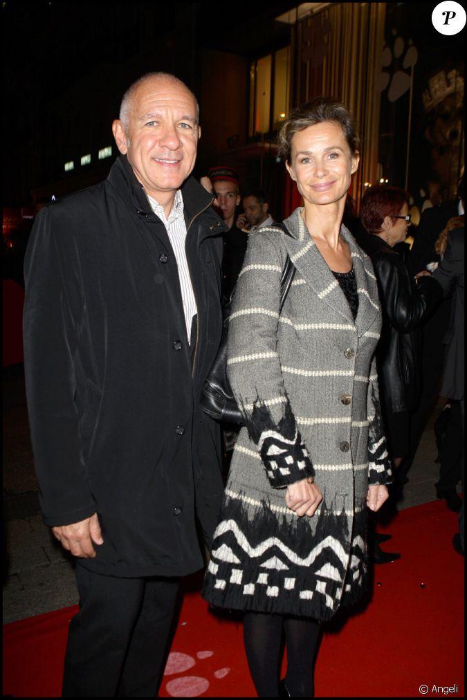 marie sophie l et son compagnon au gala de la truffe chez lancel le 16 11 09. Black Bedroom Furniture Sets. Home Design Ideas