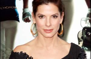 Superbe Sandra Bullock : De nouveau brune... l'actrice irradie !