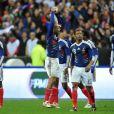 France - Irlande, un but partout, au Stade de France, le 18 novembre 2009, la France est qualifiée pour la Coupe du Monde 2010 en Afrique du Sud.