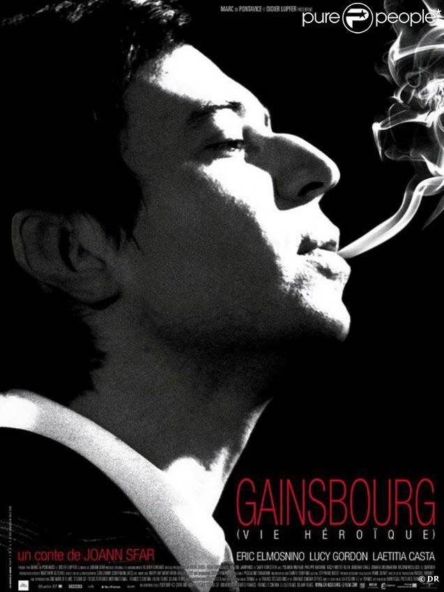 L'affiche de  Gainsbourg (vie héroïque) .