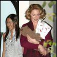 Katherine Heigl fêtant l'arrivée du bébé de sa soeur à Los Feliz le 22 novembre 2009