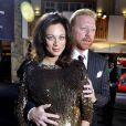 Boris Becker et son épouse Lily à l'édition 2009 des Laureus Media Award. 23/11/2009