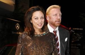 Boris Becker ne peut s'empêcher de caresser les courbes généreuses de... son épouse très enceinte !