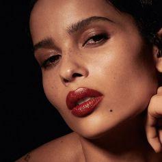 Zoe Kravitz dans la campagne de rouge à lèvres d'Yves Saint Laurent beauty