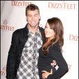 Lance Bass et Lacey Schwimmer lors de la soirée de l'organisation The Dizzy Feet à Hollywood le 29 novembre 2009