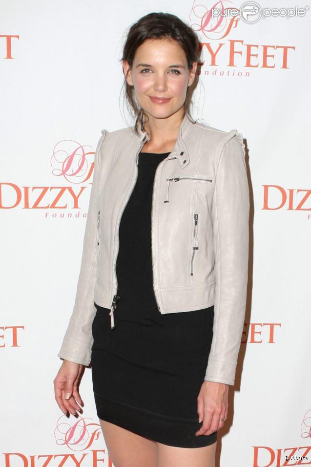Katie Holmes lors de la soirée de gala de la fondation The Dizzy Feet à Hollywood du 29 novembre 2009