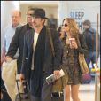 Colin Farrell et sa petite amie, Alicja Bachleda-Curus, rentrent de week-end. Los Angeles le 29 novembre 2009.