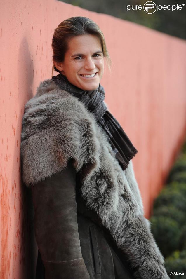 Amélie Mauresmo est ambassadrice de la fondation genevoise Sport for Life. 24/11/09