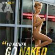 La belle Joanna Krupa pour la PeTA...