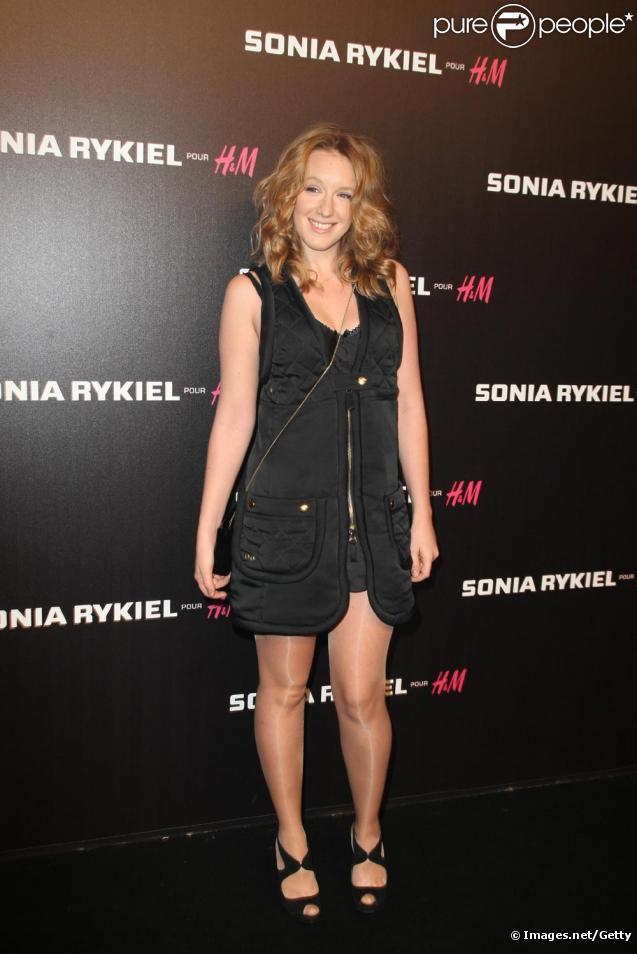 Ludivine Sagnier à la soirée Sonia Rykiel et H&M à Paris le 1 décembre 2009