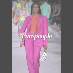 Naomi Campbell de retour, face à Dua Lipa, Gigi Hadid, Lourdes Leon... Pluie de stars pour le défilé Versace