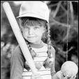 Fergie, durant ses tendres années, en grande fan de baseball.