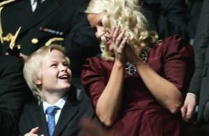 Mette-Marit de Norvège : Un large sourire lorsque son petit Marius s'éclate devant Will Smith et sa famille !