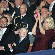 Le jeune Marius Borg, fils de la princesse Mette-Marit et beau-fils du prince héritier de Haakon de Norvège, a adoré le concert pour le Nobel de la paix, le 11 décembre 2009