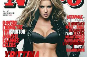 La très craquante Christina Koletsa... toute la chaleur de la Grèce incarnée dans une superbe blonde !