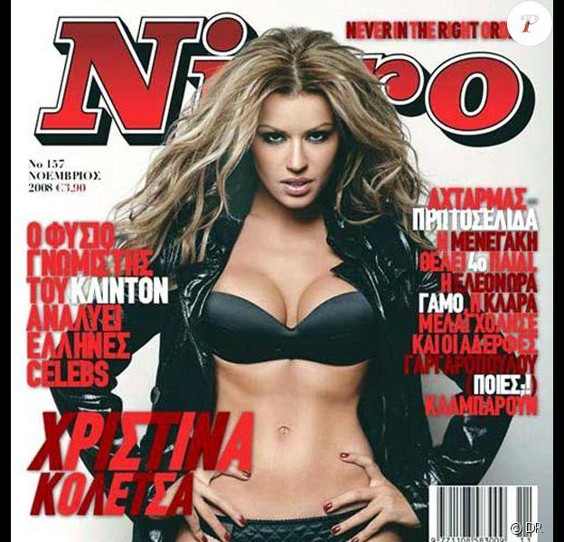 La ravissante Christina Koletsa en couverture de Niero...