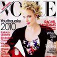 Rachel McAdams en couverture du magazine Vogue