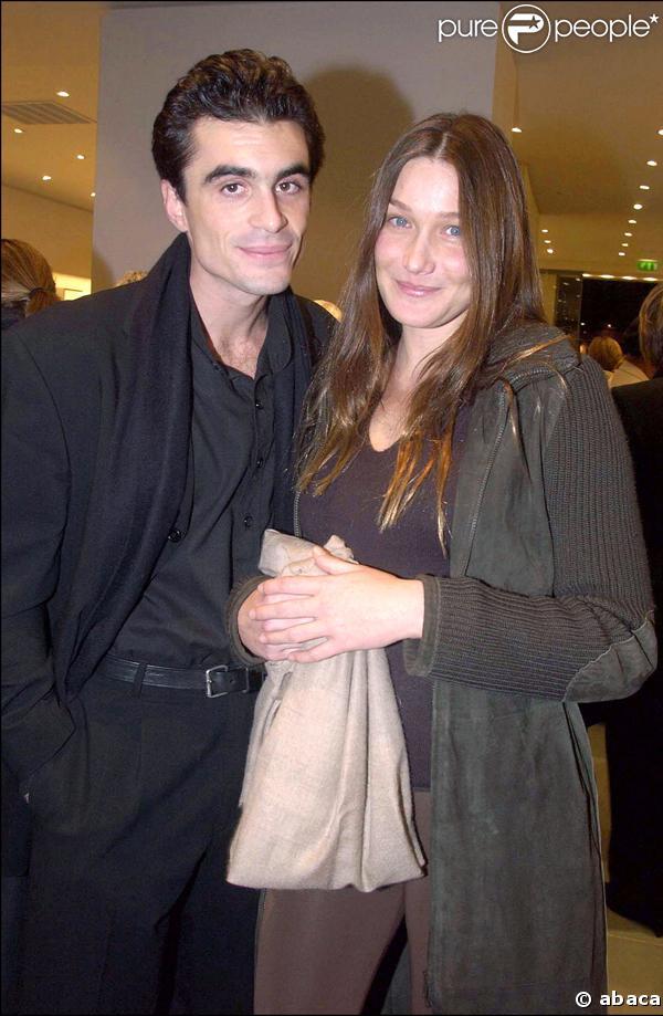 Raphaël Enthoven et Carla Bruni
