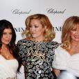 Fergie, Kate Hudson et Goldie Hawn lors de la première à New York du film Nine le 15 décembre 2009