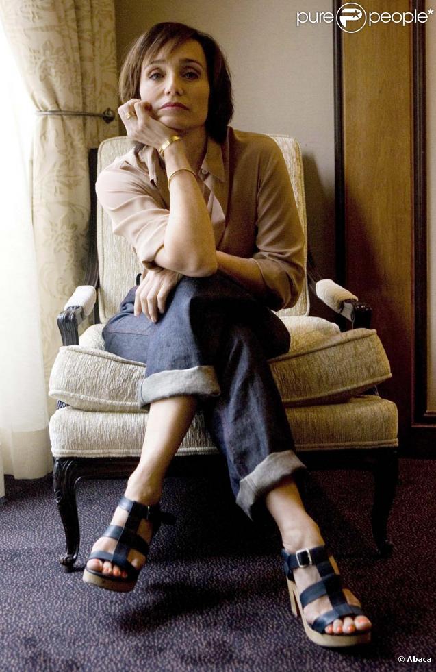 Kristin Scott Thomas ne montera pas sur la scène du théâtre du Châtelet, à cause d'un problème sévère au pied.