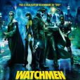 L'affiche de  Watchmen .