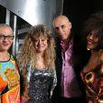 Desireless, Sloane, William (Début de soirée) et Joenice Jamison au concert RFM Party 80 qui a eu lieu au Zénith (22 décembre 2009)