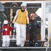 Cristina d'Espagne : La princesse ibérique, son mari et leurs quatre enfants pour... des vacances tout schuss !