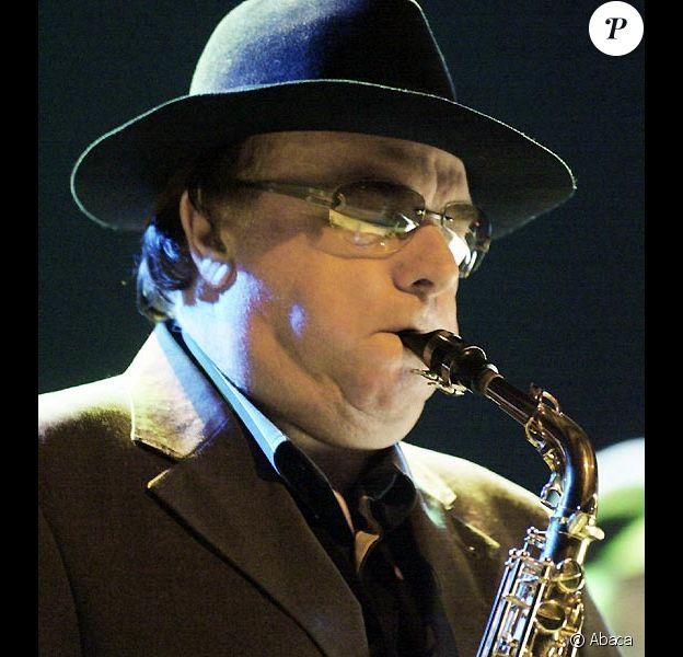 Van Morrison en concert en 2005