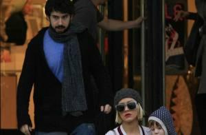 Christina Aguilera : Elle a retrouvé les deux hommes de sa vie mais... a perdu son joli sourire !