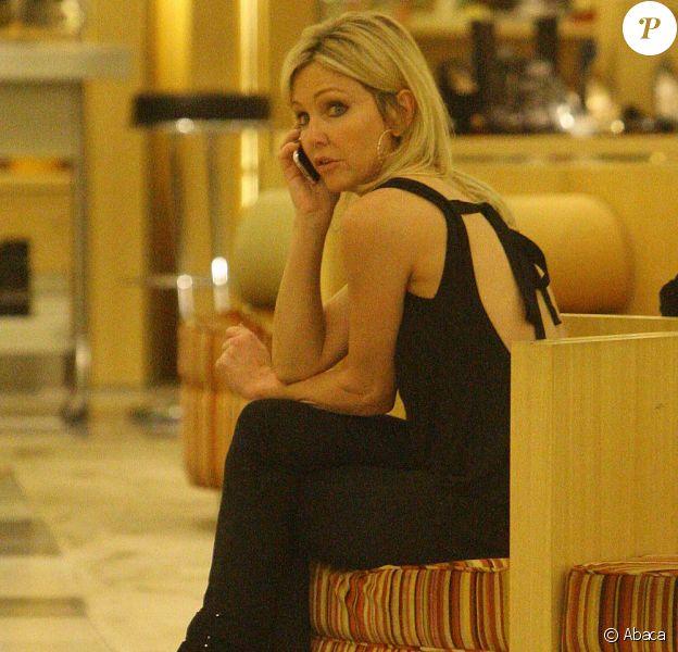 Heather Locklear faisant du shopping à Los Angeles