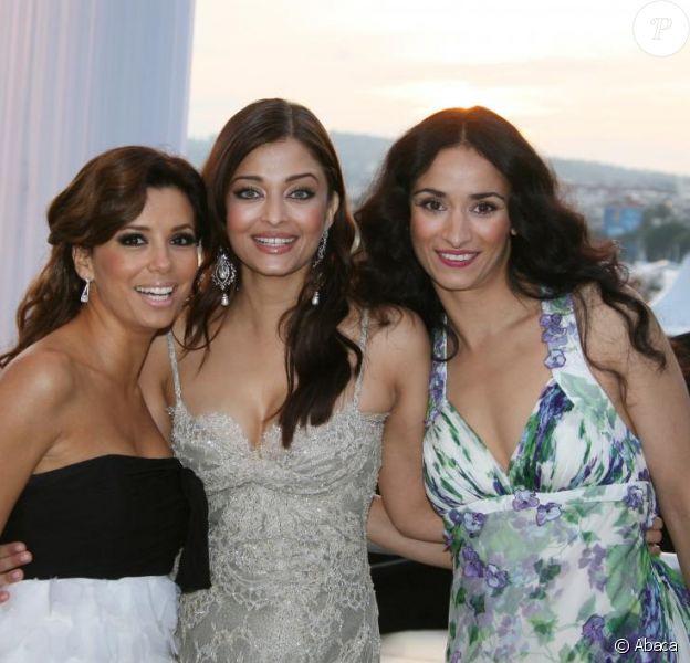 Les L'Oréal Girls vous souhaitent une bonne année : ici Eva Longoria, Aishwarya Rai et Rachida Brakni
