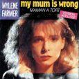 Mylène Farmer chante  My Mum is wrong , octobre 1984 !