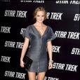 Leighton Meester : Entièrement en YSL, à l'occasion de l'avant-première du film Star Trek, au Grauman's Chinese Theatre de Los Angeles, le 30 avril 2009