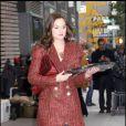 Miss Meester toujours aussi impeccable sur le tournage de GG, le 23 octobre 2009 à New York